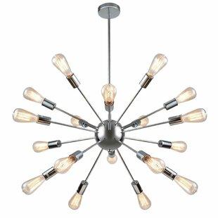 Wrought Studio Cordell 18-Light Sputnik Chandelier
