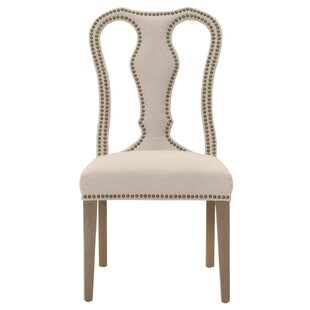 Norma Sculpted Upholstered Dining Chair (Set of 2) One Allium Way