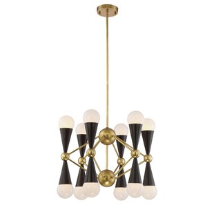 Brayden Studio Canady 12-Light Chandelier