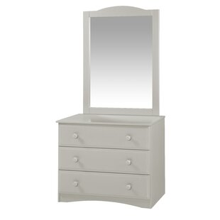 Alayna 3 Drawer Standard Dresser/Chest
