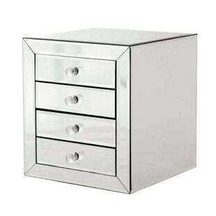 Reagan 4 Drawer Nightstand