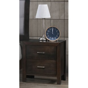 Vanbuskirk 2 Drawer Nightstand by Latitude Run