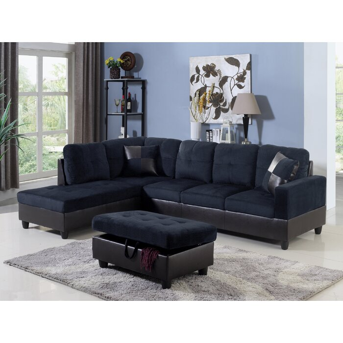 Magnificent Ranee Sectional With Ottoman Lamtechconsult Wood Chair Design Ideas Lamtechconsultcom