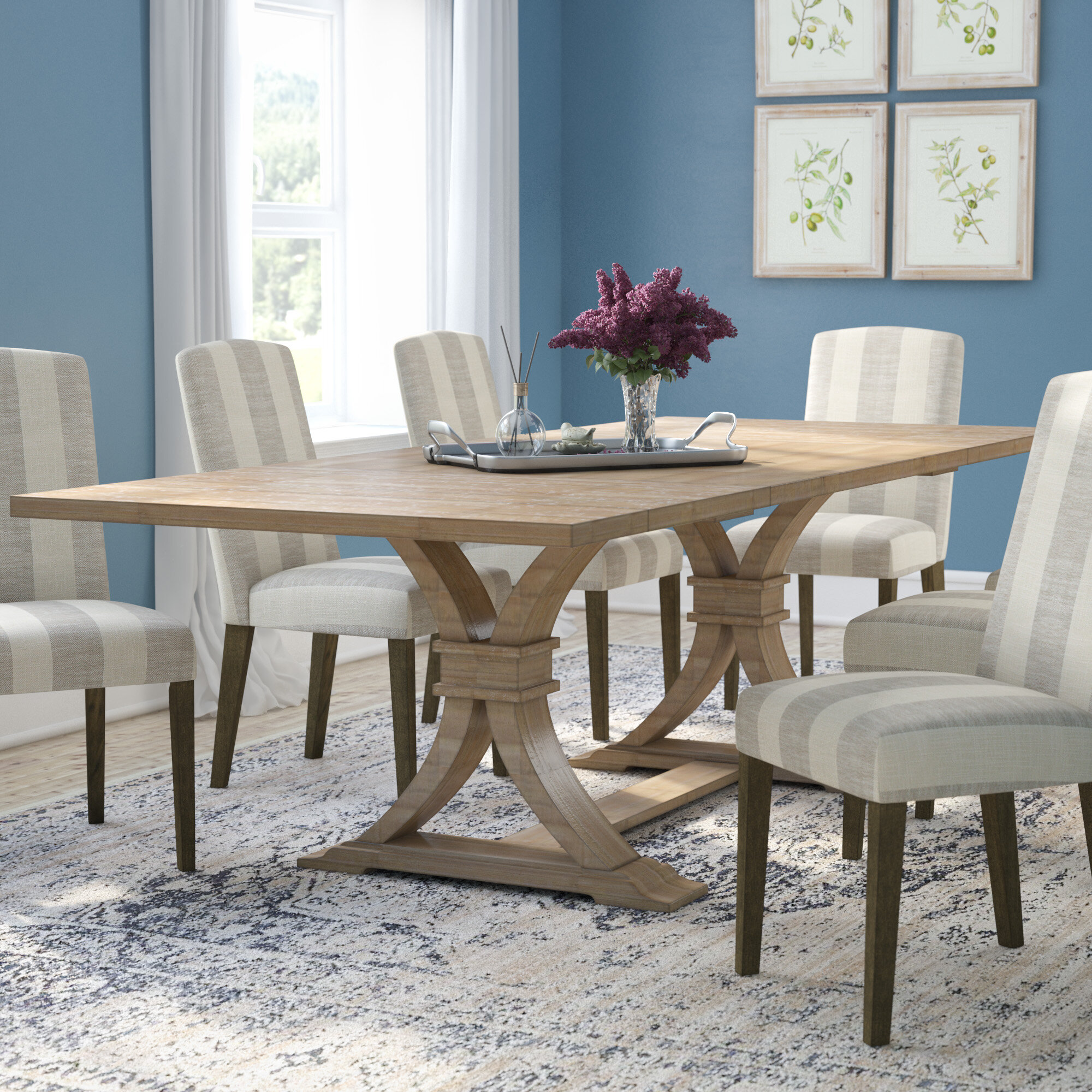 Gracie Oaks Dewitt Extendable Dining