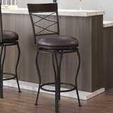 Valle 2-in-1 Adjustable Height Swivel Bar Stool by Williston Forge