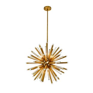 Everly Quinn Pavie 21-Light Chandelier