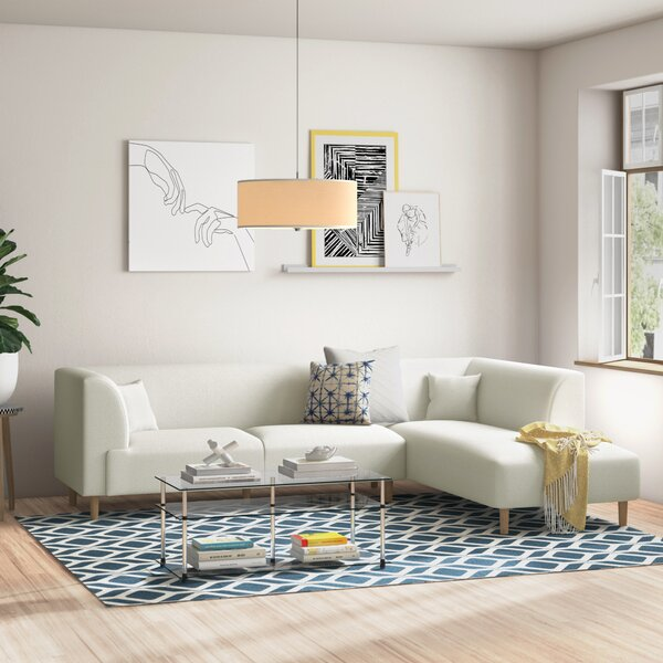 Zipcode Design Wodan Corner Sofa Wayfair Co Uk
