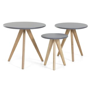 Garra 3 Piece Coffee Table Set By Home Loft Concept