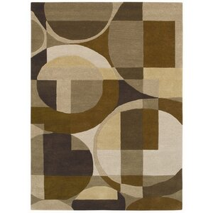 Ashley Bei/Brown Geometric Area Rug