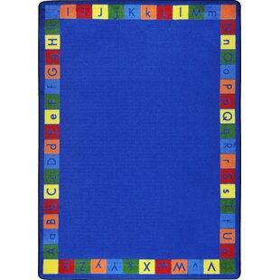 Hand-Tufled Blue Kids Rug ByThe Conestoga Trading Co.