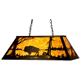 Meyda Tiffany Buffalo 9-Light Pool Table Light