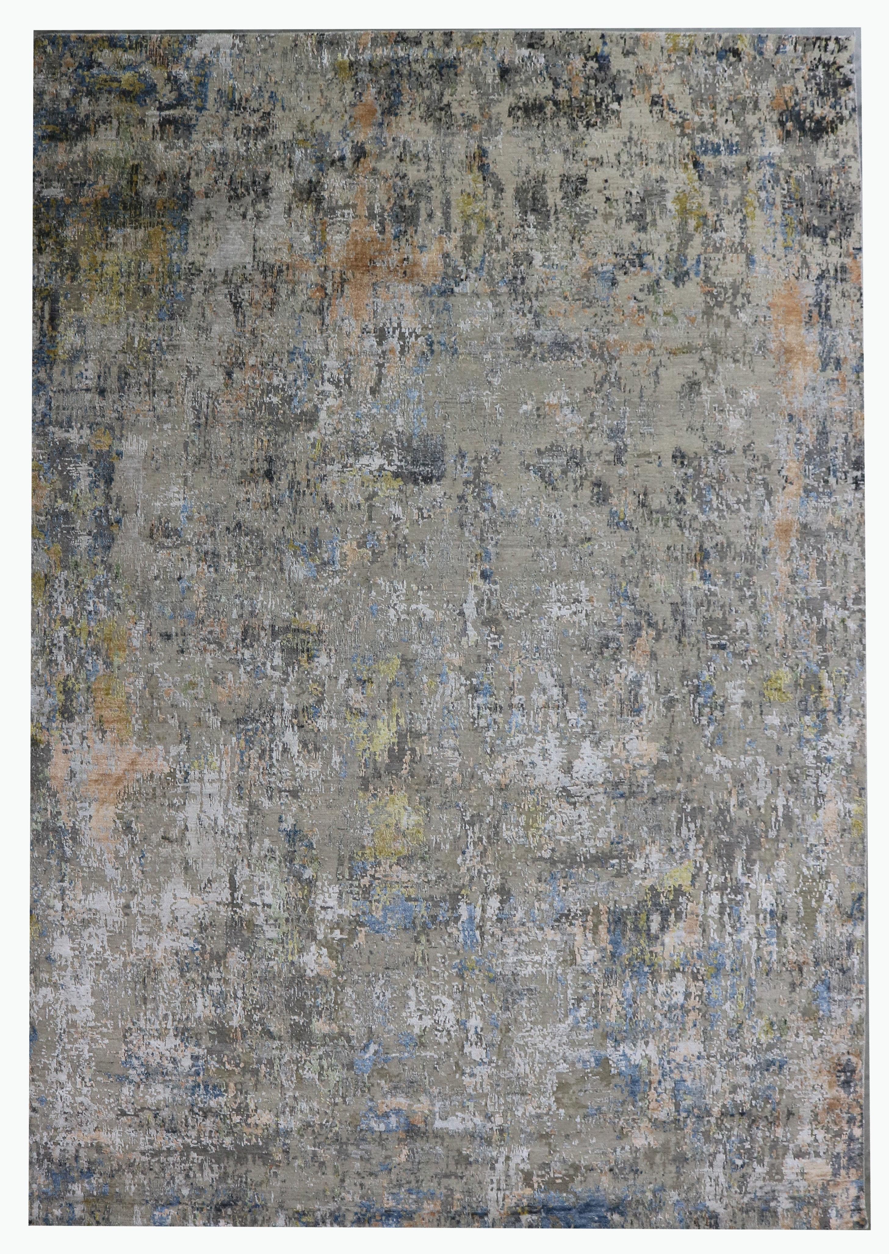 Bokara Rug Co Inc Abstract Hand Knotted Gray Area Rug Perigold