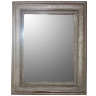Gracie Oaks Varney Wooden Wall Mirror