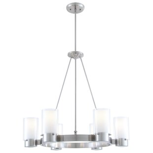 DVI Essex 6-Light Shaded Chandelier