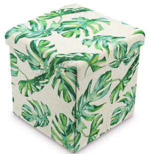 Caulfield Tufted Storage Ottoman