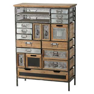 Rolfe 17 Drawer Accent Chest by Bloomsbury Market