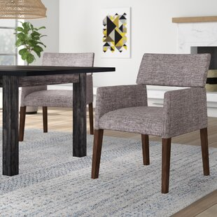 Barbee Upholstered Dining Chair (Set of 2) Ivy Bronx