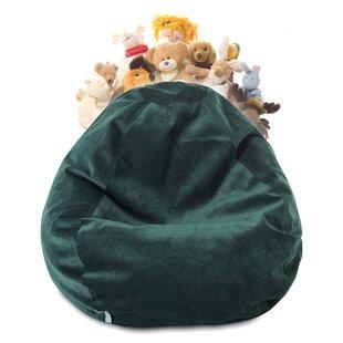 Edwards Stuffed Animal Toy Storage Bean Bag Chair ByWilla Arlo Interiors