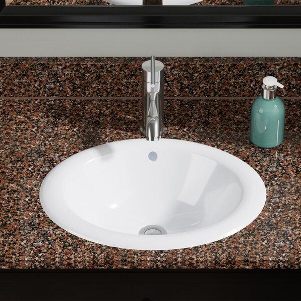 Oval Drop In Bathroom Sink Wayfair