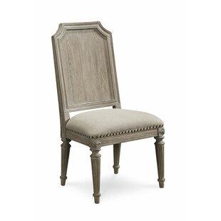 Carolin Light Oak Side Chair (Set of 2) b..