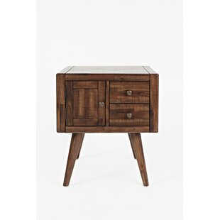 Canales Contemporary and Trendy End Table by Millwood Pines