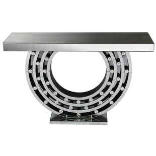 Stanley Mirrored Console Table By Brayden Studio