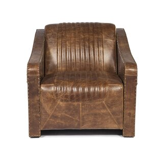 Kryptonite Club Chair by Lazzaro Leather Design