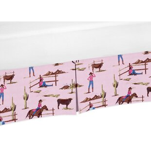 Cowgirl Print Crib Skirt BySweet Jojo Designs