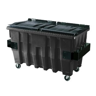 Front End Load HDPE 400 Gallon Recycling Bin By Otto
