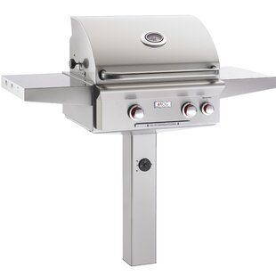 T Series Natural Gas Grill With Side Shelves By American Outdoor Grill