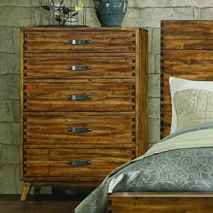 Brayden Studio Decamp 5 Drawer Chest