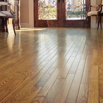 Armstrong Flooring Ascot Strip 2 14 Solid Oak Flooring Wayfair