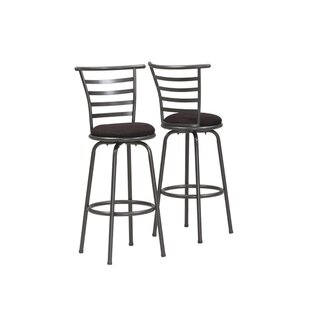 Price comparison Charlene 30 Swivel Bar Stool (Set of 2) by Winston Porter Reviews (2019) & Buyer's Guide