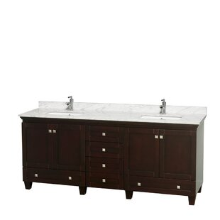 Compare Acclaim 80 Double Bathroom Vanity Set By Wyndham Collection