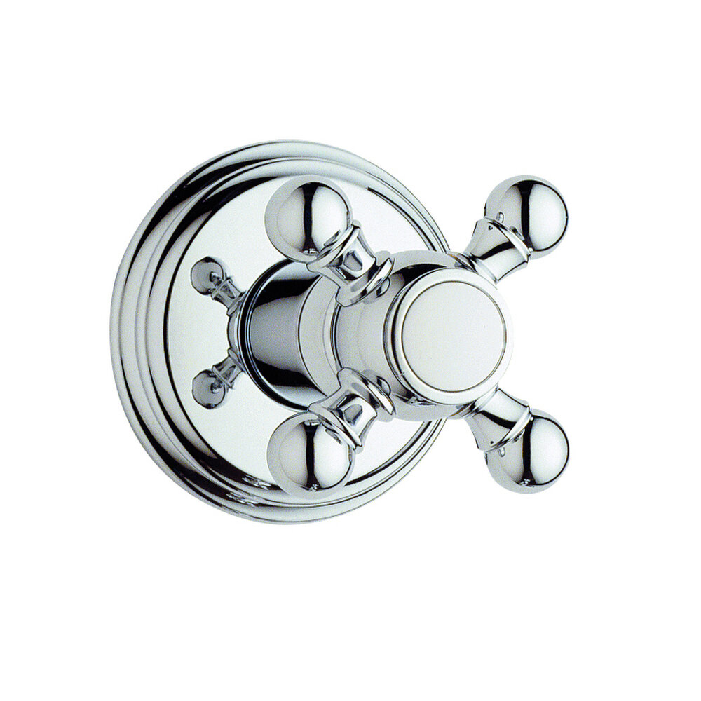 Grohe Geneva Volume Control Shower Faucet Trim with Cross Handle ...