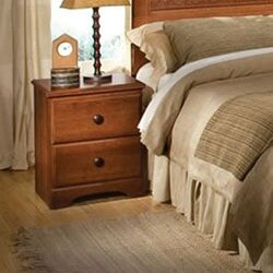 West 2 Drawer Nightstand by Darby Home Co