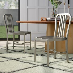 Leo Dining Chair (Set Of 2) by Mercury Row Sale