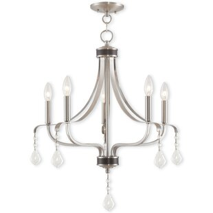 Willa Arlo Interiors Etienne 5-Light Chan..