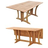 Lenworth Extendable Teak Dining Table