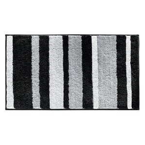 Gray Silver Bath Rugs Mats Youll Love Wayfair - Black chenille bath rug for bathroom decorating ideas