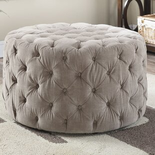 Ted Cocktail Ottoman by A&..