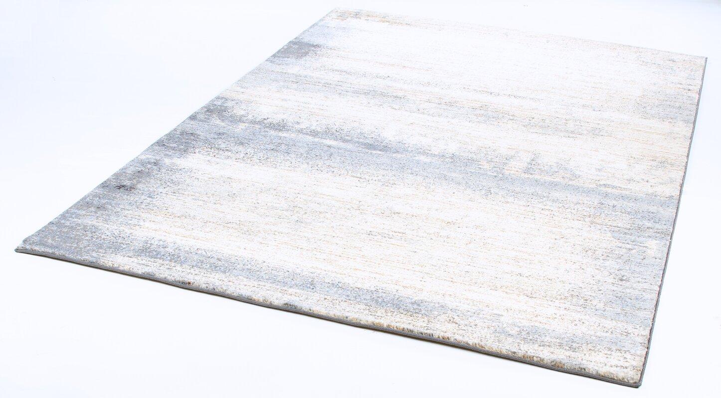orren ellis teppich candide in beige blau bewertungen. Black Bedroom Furniture Sets. Home Design Ideas