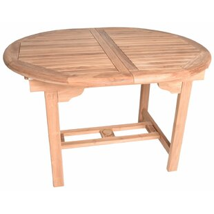 Kenzo Oval Extendable Teak Dining Table