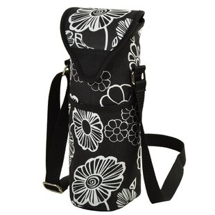 Night Bloom Wine/Water Bottle Tote Bag