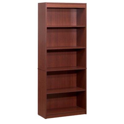 Alves Standard Bookcase Bookcase Color: Bordeaux by Mercury Row