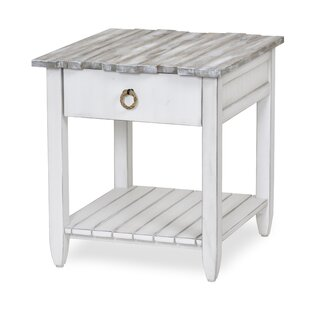 Decastro End Table With Storage by Highland Dunes Amazing