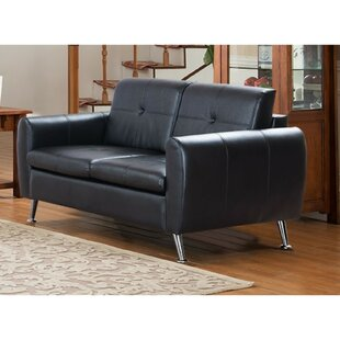 Freddie Center Button Tufted Loveseat by Orren Ellis
