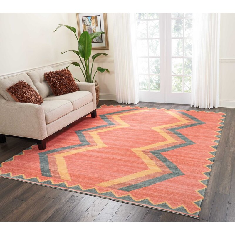 Joplin Tangerine Area Rug Amp Reviews Allmodern