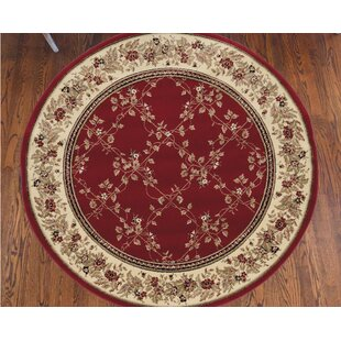 Weisgerber Red/Brown/Beige Area Rug by Astoria Grand