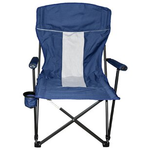 Freeport Park Stone Hard Arm Folding Camping Chair (Set of 2)